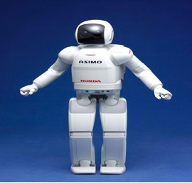 Robot ASIMO Welcomed in South Africa