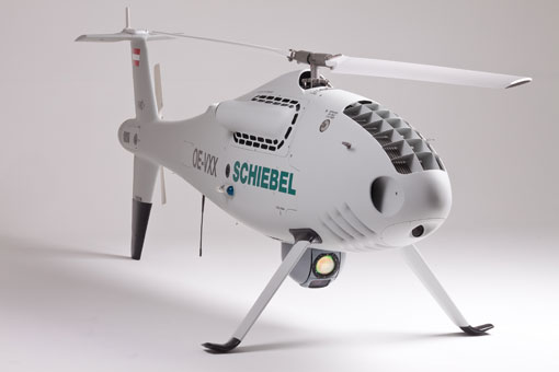 CamCopter S100 by Schiebel Coorporation
