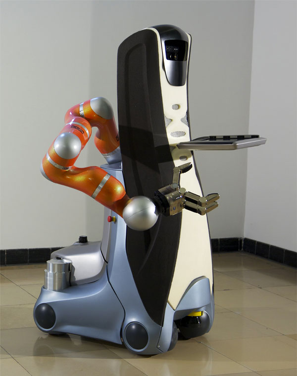 Care-O-bot 3 with arm from Kuka - Picture: /uploads/images/robots/care-o-bot/care-o-bot-3-kuka.jpg