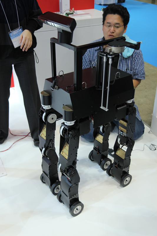 NSK robot to guide blind people