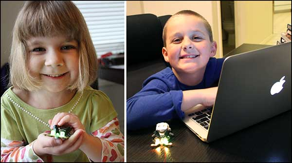 Hailey and Parker Programming Ringo