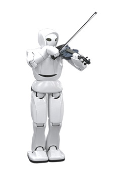 Toyota Partner Robot ver. 8 Violin-Playing Robot