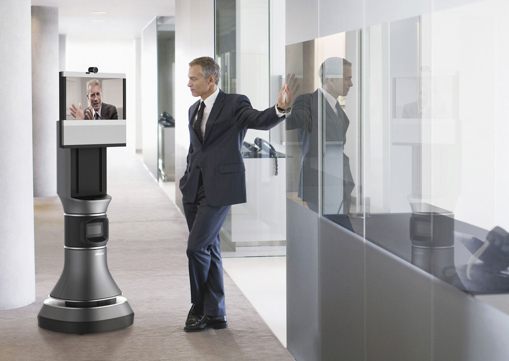 Ava 500 - iRobot - Telepresence Robot - Picture: /uploads/images/robots/robotpictures-all/ava-500-001.jpg