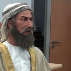 Picture of Ibn Sina (Arabic-speaking Robot)
