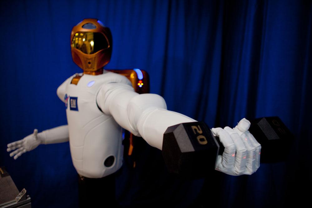Robot Robonaut Robotics Today