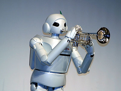 Toyota Partner Robot ver. 1 Walking Type (Trumpet)