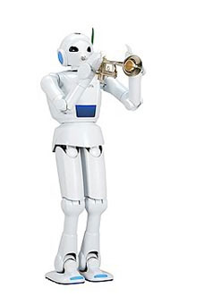 Toyota Partner Robot ver. 4 Walking Type (Trumpet) Harry
